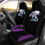 Purple Accent Spectral Dragon Seat Covers Seat Covers - The Tipsy Dragon