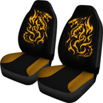 Tribal Fire Dragon Universal Bucket Seat Cover Seat Covers - The Tipsy Dragon