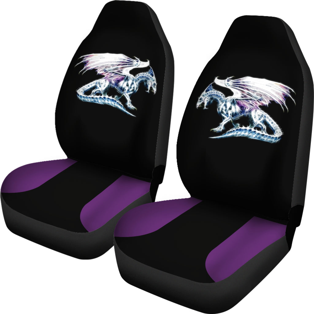 Purple Accent Spectral Dragon Seat Covers