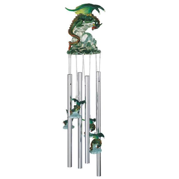 Green Dragon Wind Chime Wind Chimes - The Tipsy Dragon