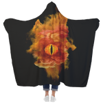 Dragon Evil Eye Hooded Blanket Hooded Blanket - The Tipsy Dragon