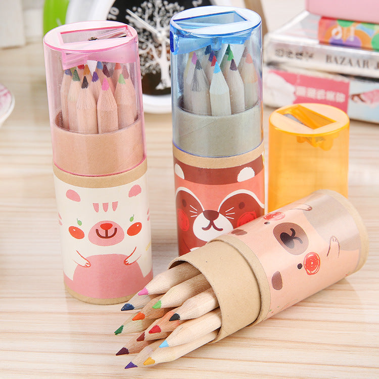 12 Pcs / Pack Mini Colored Pencils