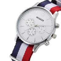 Men's Luxury Canvas Watch.