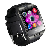 Powstro Q18 Bluetooth Smart Bracelet Watch with Touch Screen Support Micro SIM TF Card Remote Camera for iPhone Android
