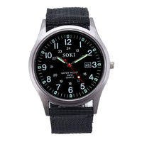 Men's Quartz Analog Watch.