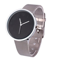 Men's Contracted Steel Band Wrist Watch.