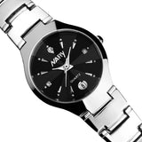Luxury Women Single Calendar Quartz Stainless Steel Date Wrist Watches
