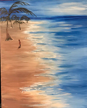 Haiti Fundraising Paint Night