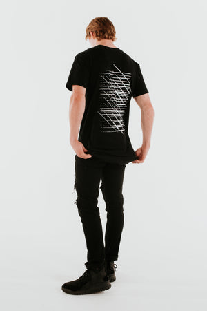 39 Stripes Unisex Long Line Tee