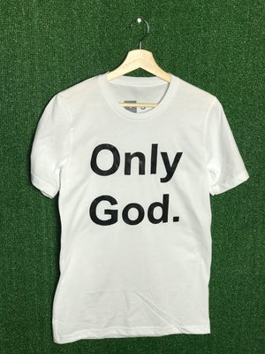Only God White Tee