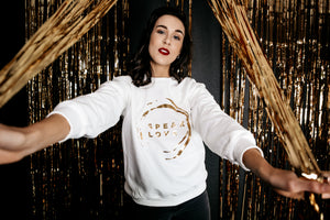 Speak Love Crew Neck Sweat Shirts