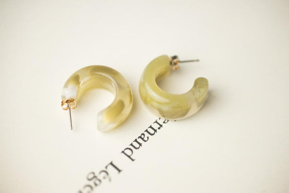Amber Earring Series | Tea of Jewellery from Sallty 咸