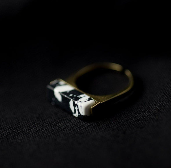 Ink Ring of Jewellery from Sallty 咸