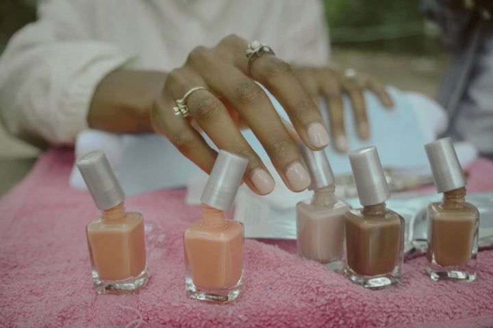 Colored French Mani How-To with Shayla