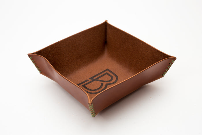 Benjamin Bott Valet Tray Buck Brown