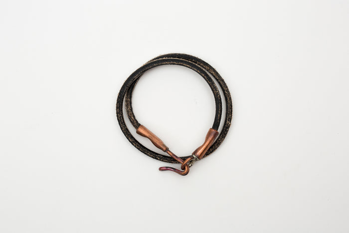 Cause & Effect Double Wrap Bracelet-Black