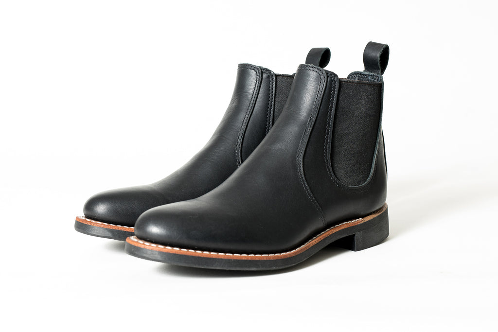 Red Wing Herritage- Womens 6 in Chelsea Boot-Black