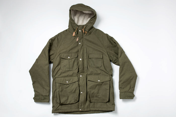 Battenwear North Field Parka-Olive