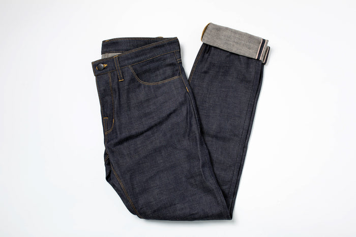 Shockoe Atelier Slim Wheeler-Collect Mills 13oz Selvage Denim