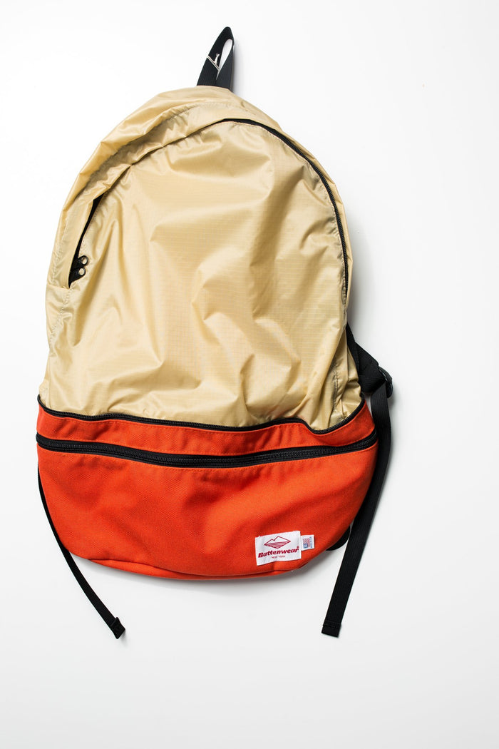 Battenwear Either-way Bag-Tan/Orange