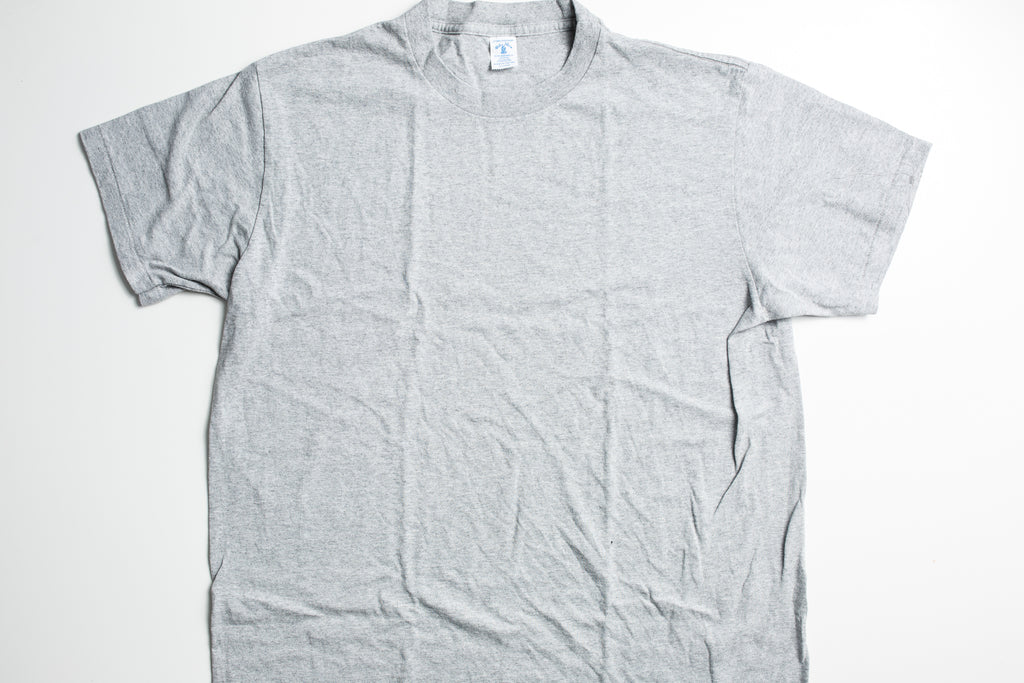 Velva Sheen 2-Pac T-Shirt Heather Grey/White
