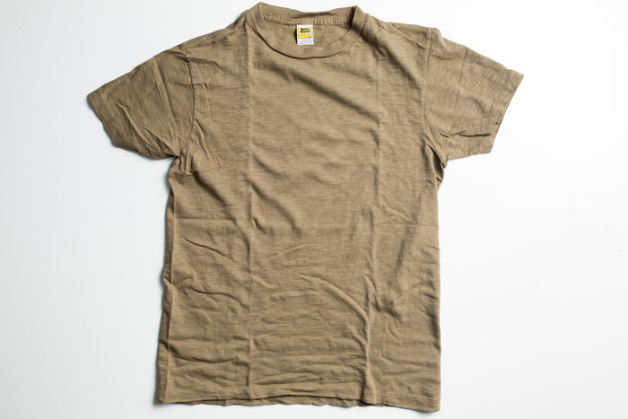 Velva Sheen Rolled T-Shirt-Olive