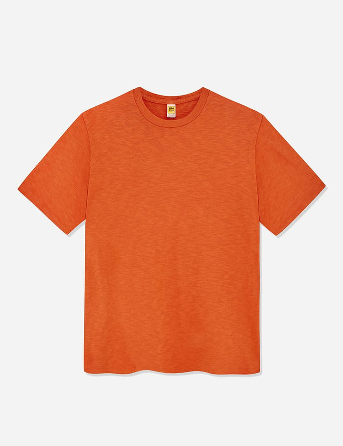 Velva Sheen Rolled T-Shirt-Orange