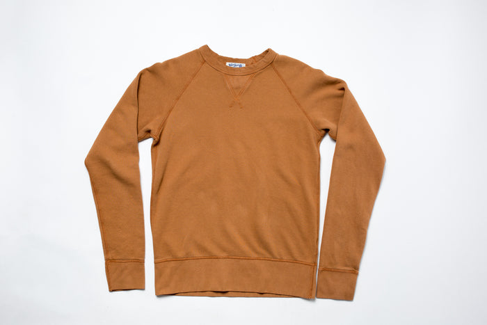 Velva Sheen 10oz Crew Neck-Mustard