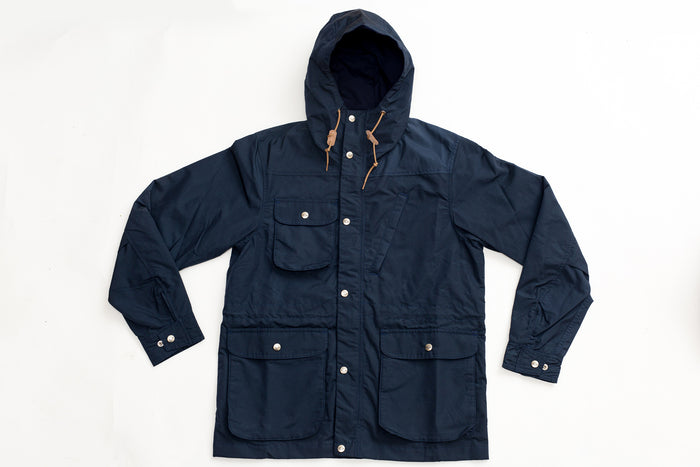 Battenwear Travel Shell Parka-Navy