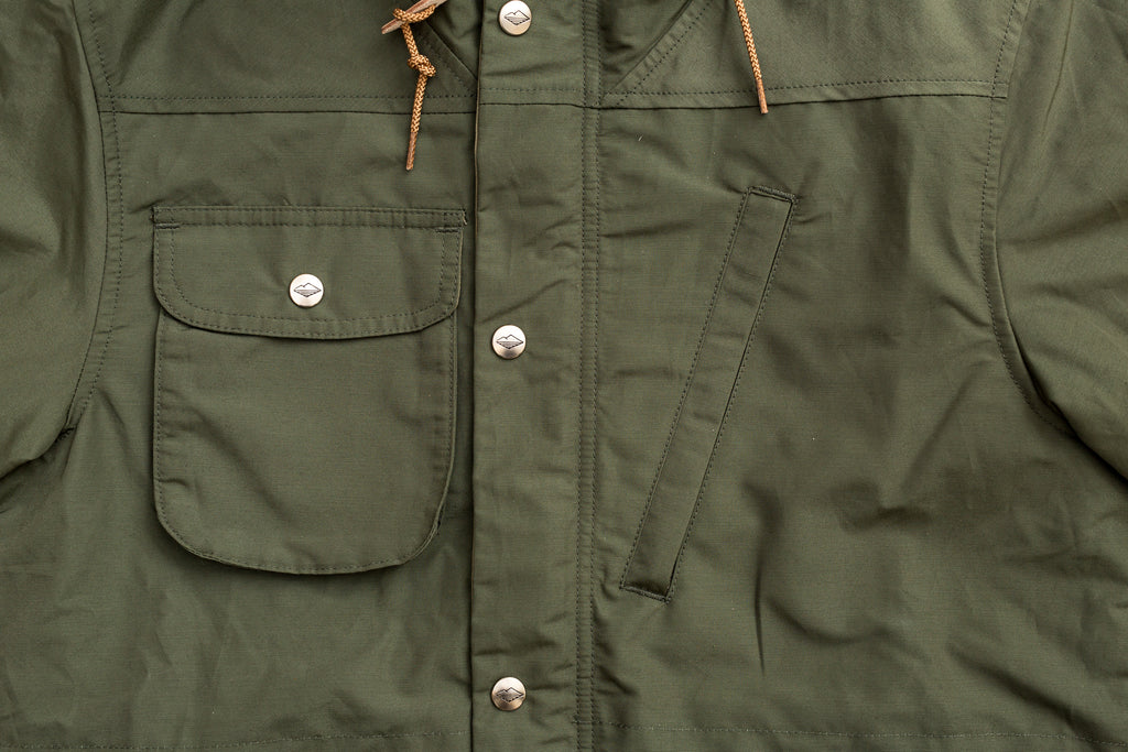 Battenwear Travel Shell Parka-Olive