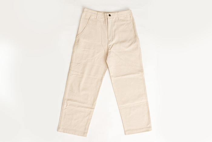 Lykke Wullf- Montana Painter Pant- Cream Canvas