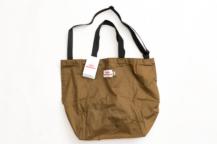 Battenwear Packable Tote Tan x Black