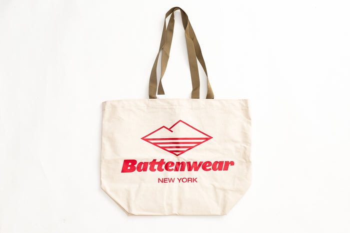 Battenwear Natural Canvas Tote
