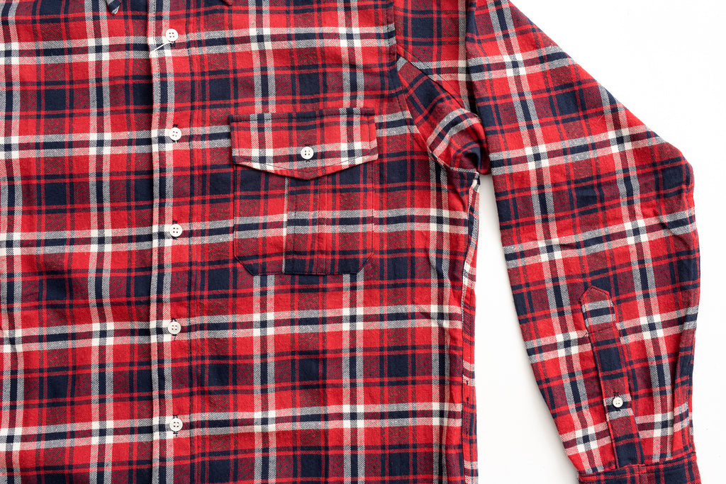Battenwear BD Scout Shirt-Red Plaid