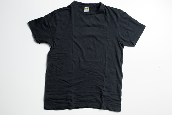 Velva Sheen Rolled T-Shirt-Black