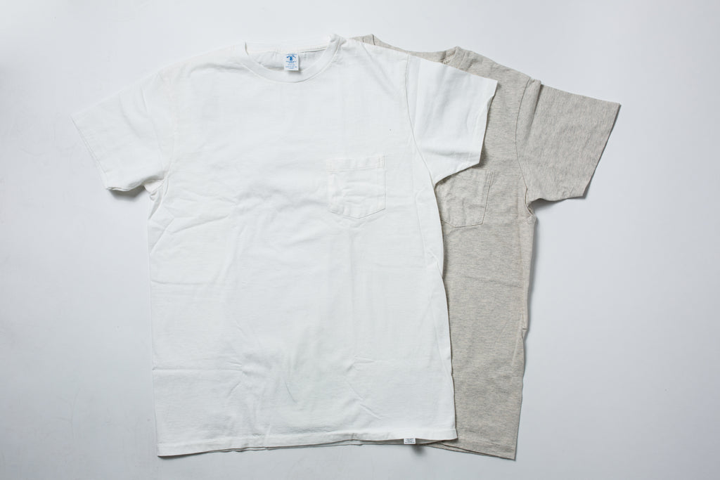 Velva Sheen 2-Pac T-Shirt Oatmeal/White