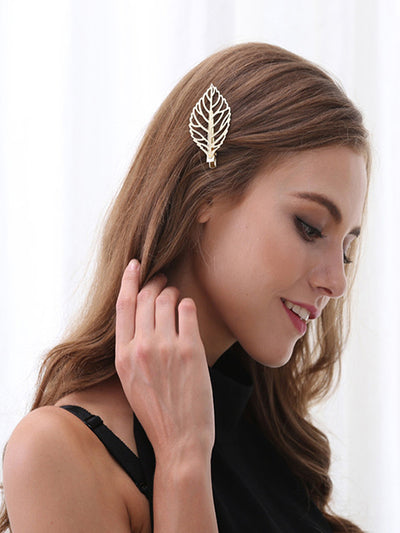 Bohemian Metal Leaf Wild Hair Pin Hair Accessory