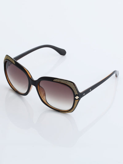 Luxury Rhinestone Diamond Eye Sunglasses Women Fashion Glasses
