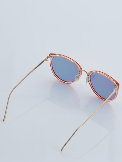 Men Women Couple Sunglasses Retro Round Glasses
