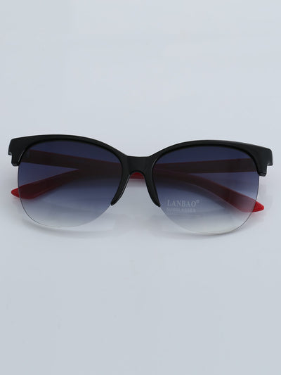 Retro Fashion Half Frame Sunglasses