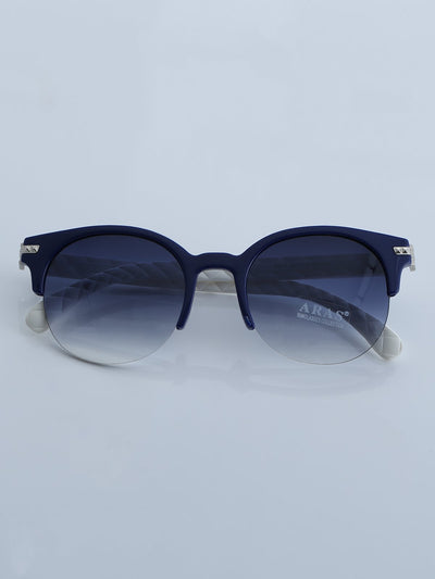 Retro Polarized Sunglasses Classic Half Frame Semi-Rimless