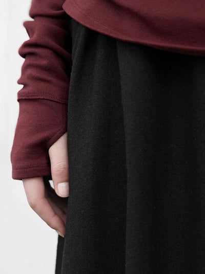 Autumn Winter Turtleneck Comfortable Plus Velvet Blouse
