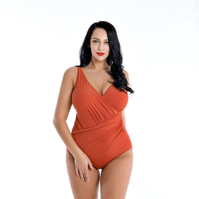 1320 PLUS SIZE ONE-PIECE SWIMSUIT