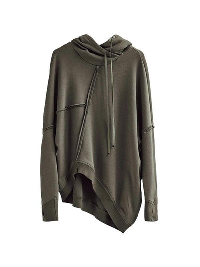 Handsome Casual Asymmetrical Ladies Hoodie