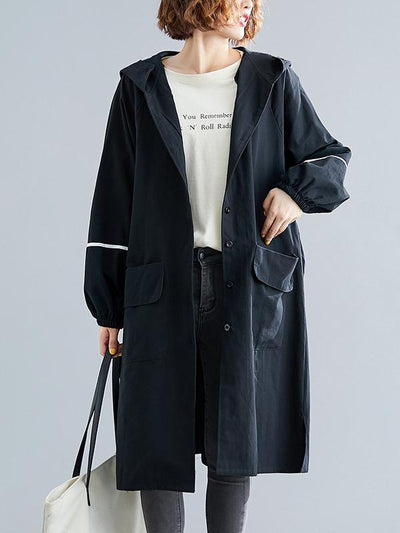 Super Loose Hooded Outwear