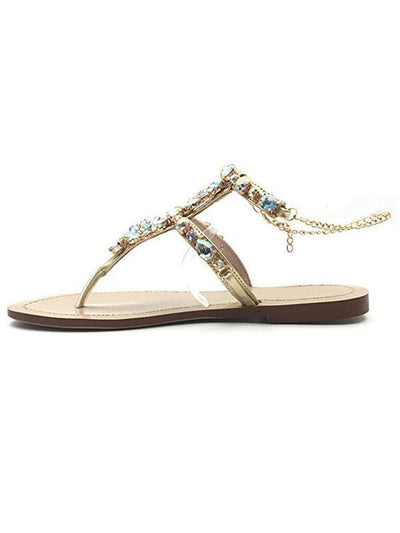 Pretty Women Low-heel Sandals Shoes