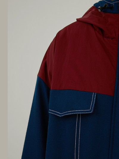 Retro Handsome Windbreaker