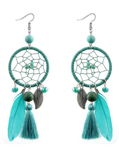 Bohemia Feather Earring Accessories
