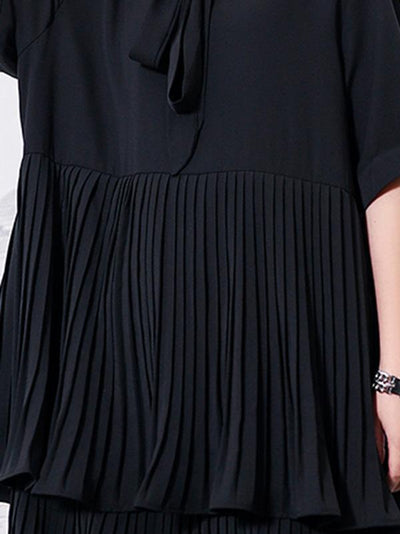 Elegant Ruffled Layered Dress