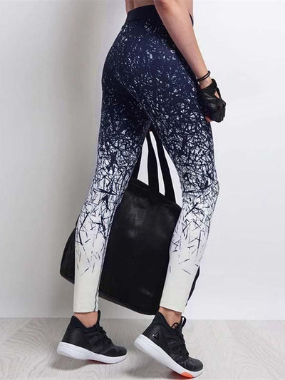 Fashion Printed Yoga Leggings Bottoms